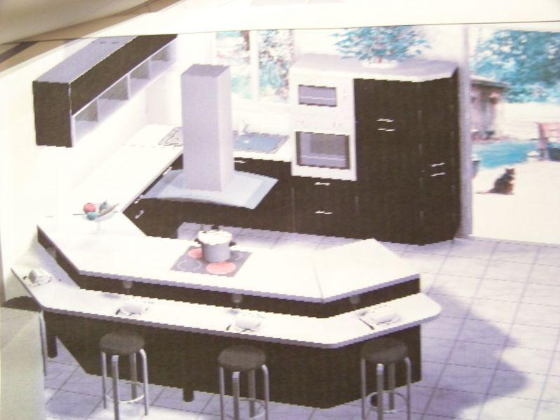 La cuisine geoxia et nous for Cuisine avec baie vitree